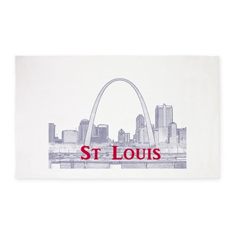 Captivating St. Louis 3u0027x5u0027 Area Rug