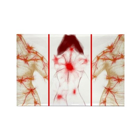 Trigger Points Rectangle Magnet