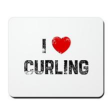 I * Curling Mousepad