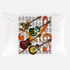 Guitar and Chord 07 Pillow Case