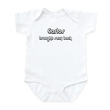 Sexy: Carlos Infant Bodysuit