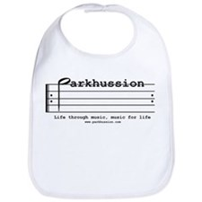 parkhussion logo life and music Bib