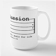 parkhussion logo life and music Mug