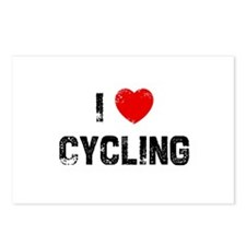 I * Cycling Postcards (Package of 8)