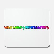 Wit & Whimzy Logo Mousepad