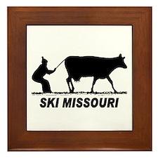The Ski Missouri Shop Framed Tile