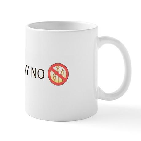 Gluten Free Just Say No Small Mug