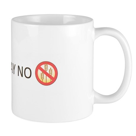 Gluten Free Just Say No Small Mug