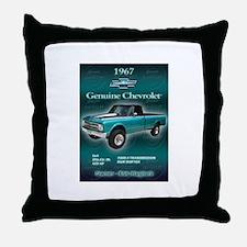 Bobs Chevy Throw Pillow