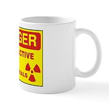 DANGER - RADIOACTIVE ELEMENTS! Small Mug