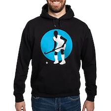 field hockey player Hoodie