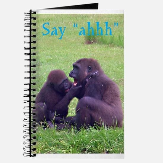 gorilla doctor Journal