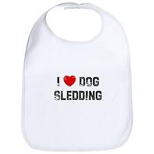 I * Dog Sledding Bib