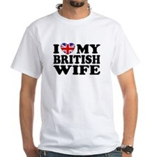 I Love My British Wife Shirt