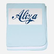 Aliza baby blanket