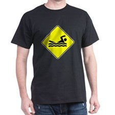 Swimmer Crossing T-Shirt