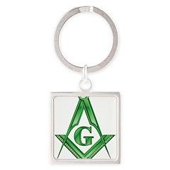 Irish Green SC Square Keychain