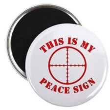 This Is My Peace Sign Magnet