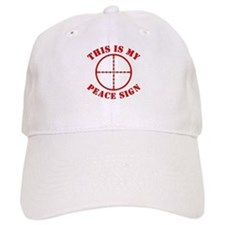 This Is My Peace Sign Baseball Cap