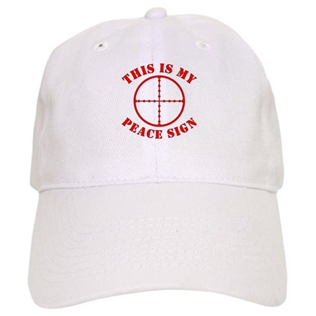 This Is My Peace Sign Cap