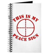 This Is My Peace Sign Journal