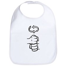 Coffee ASL Mug Bib