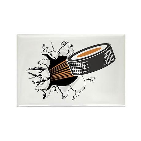 Breakthrough Hockey Rectangle Magnet