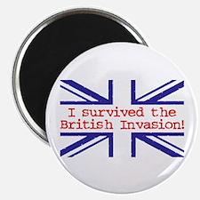 I Survived the British Invasion Magnet