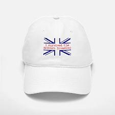 I Survived the British Invasion Baseball Baseball Cap