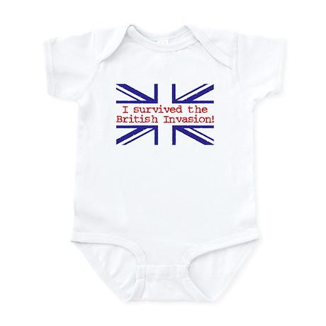 I Survived the British Invasion Infant Bodysuit