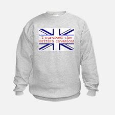 I Survived the British Invasion Sweatshirt