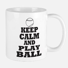 Keep Calm Play Ball Mug