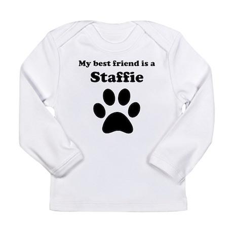 Staffie Best Friend Long Sleeve T-Shirt