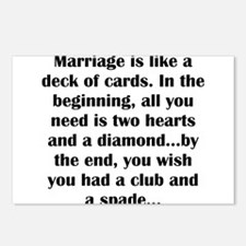 Cute Marriage Postcards (Package of 8)