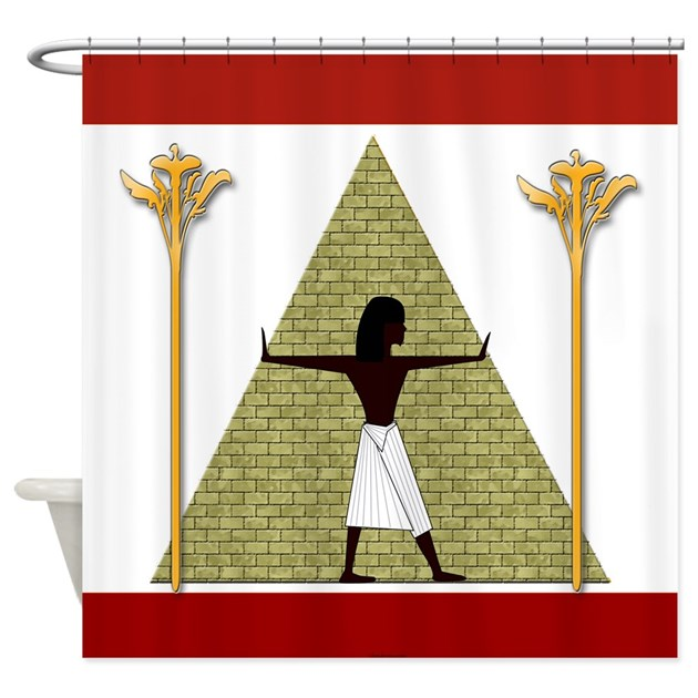 Egyptian Home Decor Shower Curtain By Cheylines