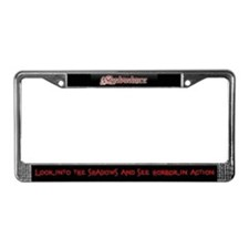 Shadowdance license plate cover