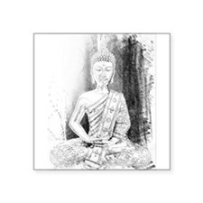 Zen Buddha Art Sticker