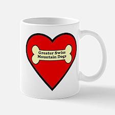 Greater Swiss Mountain Dogs Heart Mug