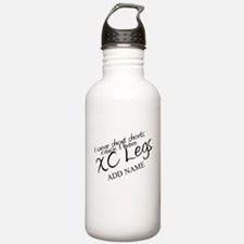 XC Legs Short Shorts Add Name Water Bottle