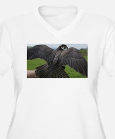 Peregrine Falcon Plus Size T-Shirt
