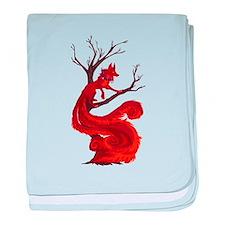 The kitsune baby blanket
