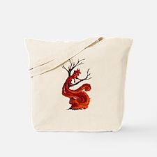 The kitsune Tote Bag