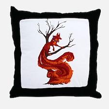 The kitsune Throw Pillow