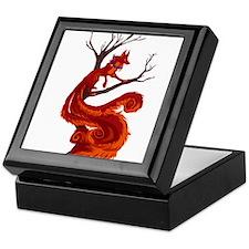 The kitsune Keepsake Box