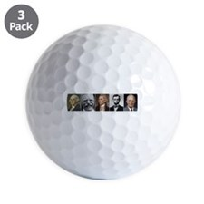 United States Presidents Golf Ball
