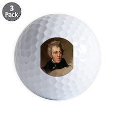 Andrew Jackson Golf Ball