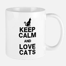 Keep Calm Love Cats Mug