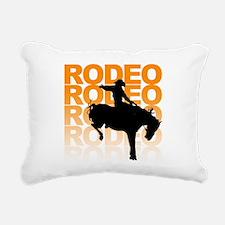 rodeo Rectangular Canvas Pillow