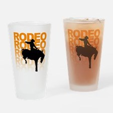 rodeo Drinking Glass