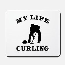 My Life Curling Mousepad